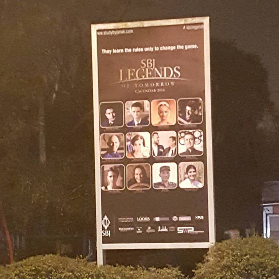 Outdoor hoarding in Delhi