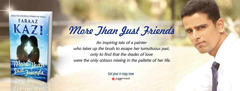 Header for More Than Just Friends - a book by Faraaz Kazi