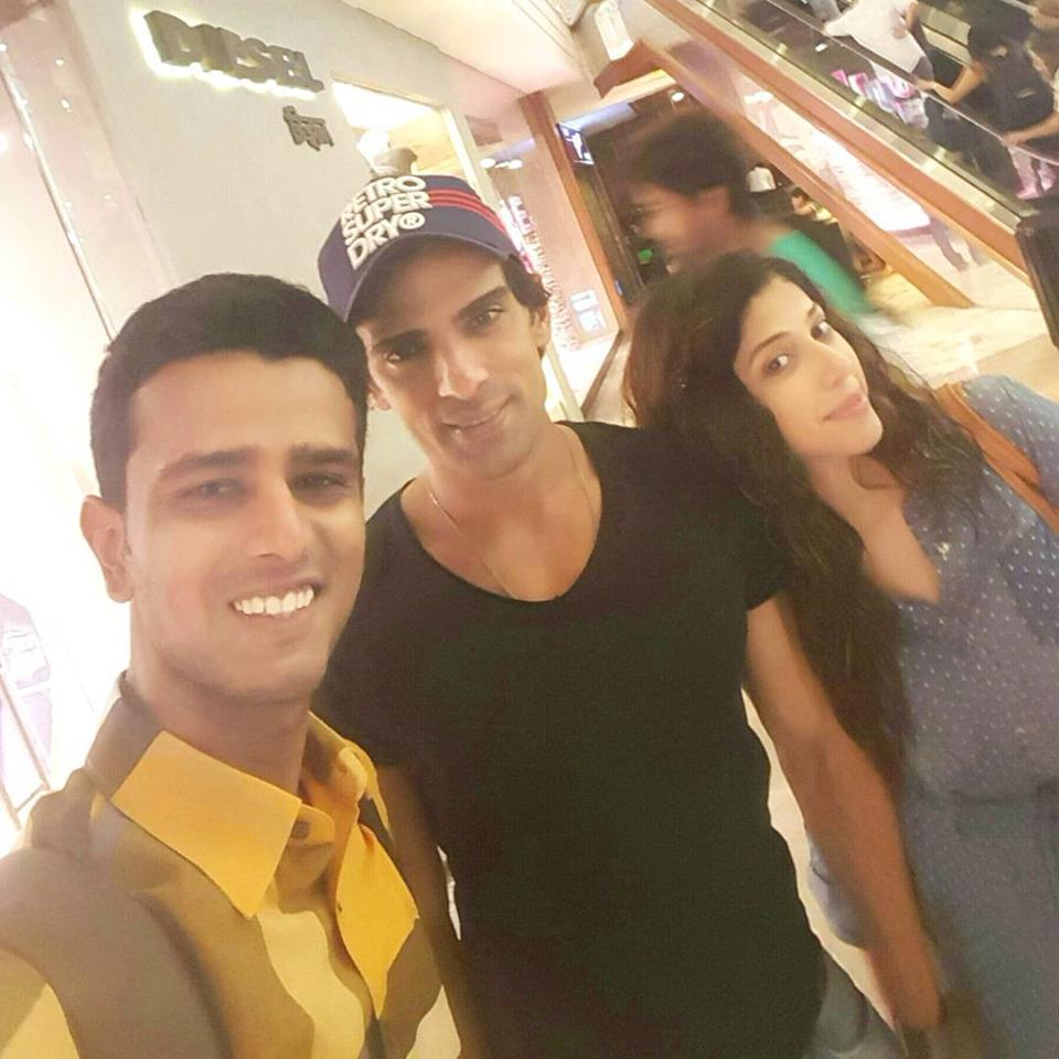 Photo of Faraaz Kazi, Mohit Malik aka Samrat Singh Rathore and Addite Malik